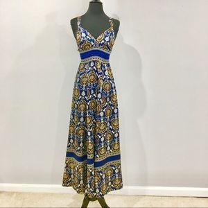 FOREVER 21 Satin Maxi Dress